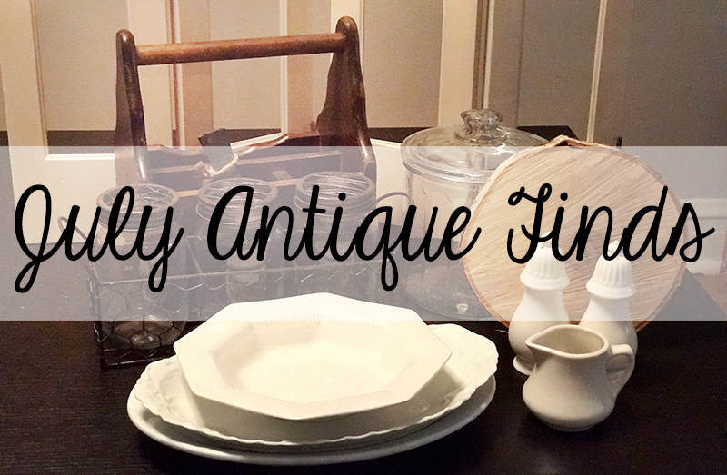 July Antique Finds